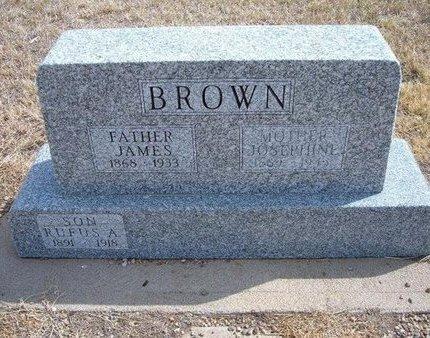 BROWN, JOSEPHINE - Baca County, Colorado   JOSEPHINE BROWN - Colorado Gravestone Photos