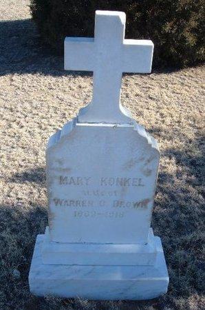 BROWN, MARY - Baca County, Colorado | MARY BROWN - Colorado Gravestone Photos