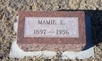 BROWN, MAMIE E - Baca County, Colorado | MAMIE E BROWN - Colorado Gravestone Photos