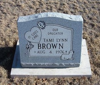 BROWN, TAMI LYNN - Baca County, Colorado | TAMI LYNN BROWN - Colorado Gravestone Photos