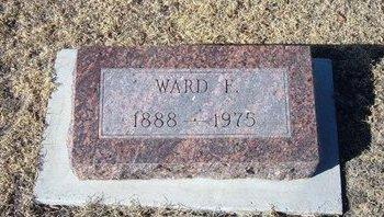 BROWN, WARD F - Baca County, Colorado | WARD F BROWN - Colorado Gravestone Photos