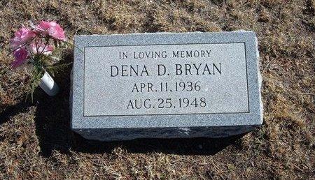 BRYAN, DENA D - Baca County, Colorado   DENA D BRYAN - Colorado Gravestone Photos