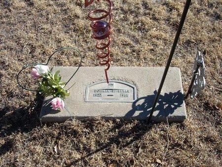 BRYAN, DORMAN E - Baca County, Colorado | DORMAN E BRYAN - Colorado Gravestone Photos