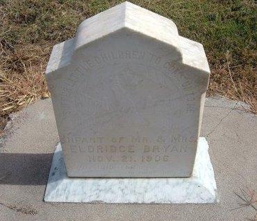 BRYAN, INFANT - Baca County, Colorado   INFANT BRYAN - Colorado Gravestone Photos