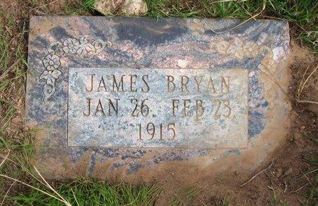 BRYAN, JAMES - Baca County, Colorado | JAMES BRYAN - Colorado Gravestone Photos