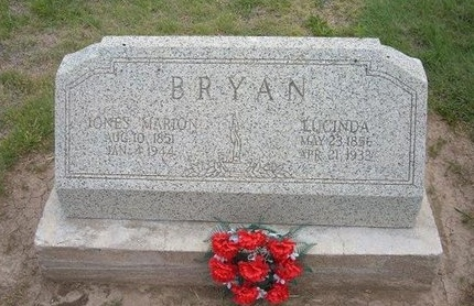 BRYAN, LUCINDA - Baca County, Colorado | LUCINDA BRYAN - Colorado Gravestone Photos