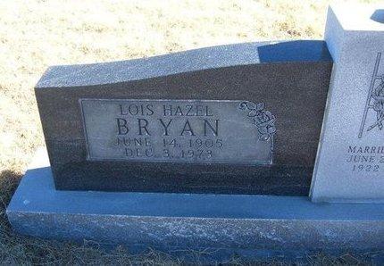 BRYAN, LOIS HAZEL - Baca County, Colorado | LOIS HAZEL BRYAN - Colorado Gravestone Photos