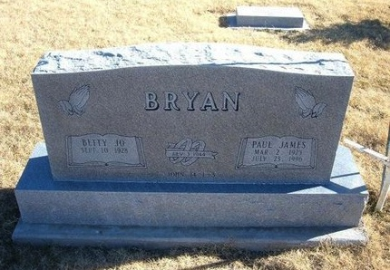 BRYAN, PAUL JAMES - Baca County, Colorado   PAUL JAMES BRYAN - Colorado Gravestone Photos