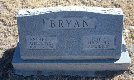 BRYAN, RAY H - Baca County, Colorado | RAY H BRYAN - Colorado Gravestone Photos