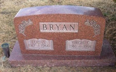 BRYAN, VIRGIL C - Baca County, Colorado | VIRGIL C BRYAN - Colorado Gravestone Photos