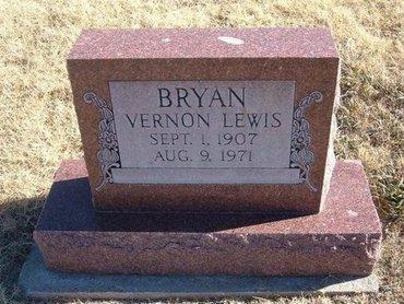 BRYAN, VERNON LEWIS - Baca County, Colorado   VERNON LEWIS BRYAN - Colorado Gravestone Photos