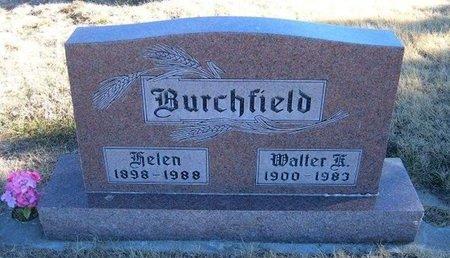 BURCHFIELD, WALTER - Baca County, Colorado | WALTER BURCHFIELD - Colorado Gravestone Photos