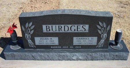 BURDGES, CARROLL H - Baca County, Colorado | CARROLL H BURDGES - Colorado Gravestone Photos