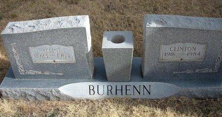 BURHENN, CLINTON - Baca County, Colorado | CLINTON BURHENN - Colorado Gravestone Photos