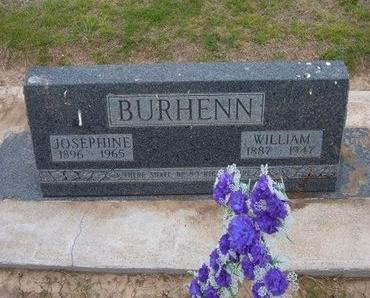 CHRISTIANSEN BURHENN, JOSEPHINE - Baca County, Colorado | JOSEPHINE CHRISTIANSEN BURHENN - Colorado Gravestone Photos
