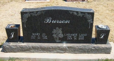 BURSON, MARY JO - Baca County, Colorado | MARY JO BURSON - Colorado Gravestone Photos
