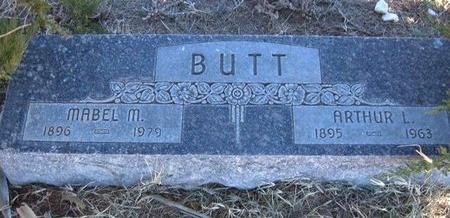 BUTT, ARTHUR L - Baca County, Colorado | ARTHUR L BUTT - Colorado Gravestone Photos