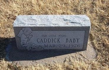 CADDICK, BABY - Baca County, Colorado | BABY CADDICK - Colorado Gravestone Photos