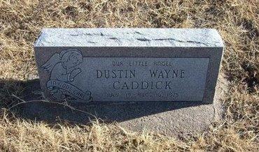 CADDICK, DUSTIN WAYNE - Baca County, Colorado | DUSTIN WAYNE CADDICK - Colorado Gravestone Photos