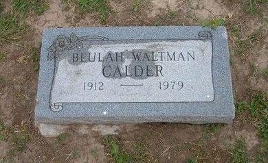 CALDER, BEULAH - Baca County, Colorado | BEULAH CALDER - Colorado Gravestone Photos