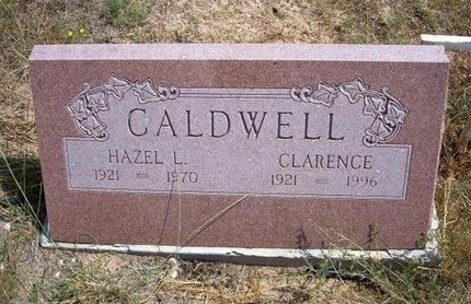 CALDWELL, HAZEL L - Baca County, Colorado | HAZEL L CALDWELL - Colorado Gravestone Photos