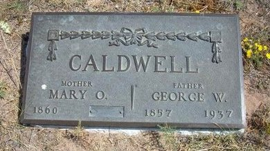 CALDWELL, MARY O - Baca County, Colorado | MARY O CALDWELL - Colorado Gravestone Photos