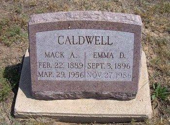CALDWELL, MACK A - Baca County, Colorado | MACK A CALDWELL - Colorado Gravestone Photos