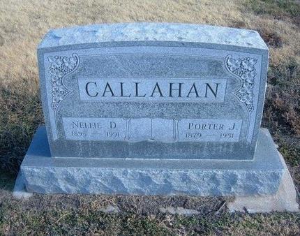 CALLAHAN, PORTER JOHN - Baca County, Colorado | PORTER JOHN CALLAHAN - Colorado Gravestone Photos