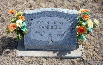 CAMPBELL, TYSON KENT - Baca County, Colorado   TYSON KENT CAMPBELL - Colorado Gravestone Photos