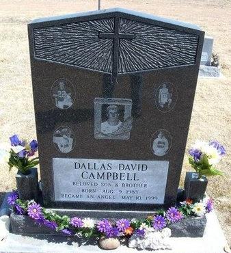 CAMPBELL, DALLAS DAVID - Baca County, Colorado | DALLAS DAVID CAMPBELL - Colorado Gravestone Photos