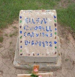 CAMPBELL, ELLEN - Baca County, Colorado | ELLEN CAMPBELL - Colorado Gravestone Photos