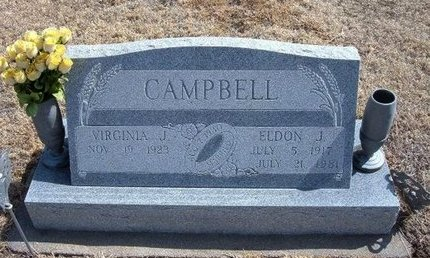 CAMPBELL, ELDON J - Baca County, Colorado | ELDON J CAMPBELL - Colorado Gravestone Photos