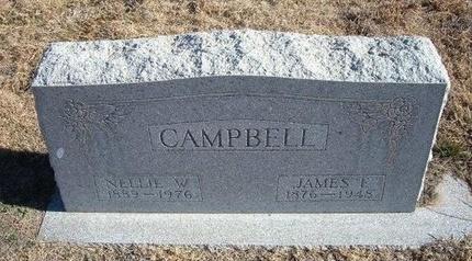 CAMPBELL, JAMES E - Baca County, Colorado | JAMES E CAMPBELL - Colorado Gravestone Photos