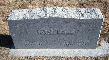 CAMPBELL, JAMES E - Baca County, Colorado | JAMES E CAMPBELL - Colorado Gravestone Photos