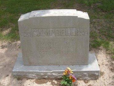 CAMPBELL, MINNIE MYRTLE - Baca County, Colorado | MINNIE MYRTLE CAMPBELL - Colorado Gravestone Photos
