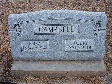 CAMPBELL, ELIZA VICTORIA - Baca County, Colorado | ELIZA VICTORIA CAMPBELL - Colorado Gravestone Photos