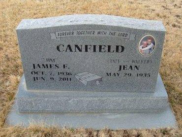 "CANFIELD, JAMES F ""JIM"" - Baca County, Colorado | JAMES F ""JIM"" CANFIELD - Colorado Gravestone Photos"