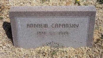 CAPANSKY, ANDREW - Baca County, Colorado | ANDREW CAPANSKY - Colorado Gravestone Photos