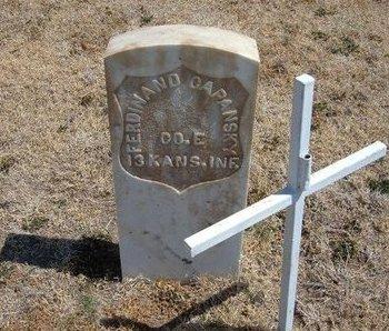 CAPANSKY (VETERAN UNION), FERDINAND - Baca County, Colorado | FERDINAND CAPANSKY (VETERAN UNION) - Colorado Gravestone Photos