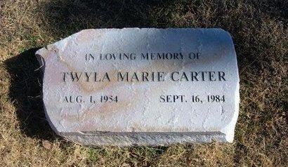 CARTER, TWYLA MARIE - Baca County, Colorado   TWYLA MARIE CARTER - Colorado Gravestone Photos
