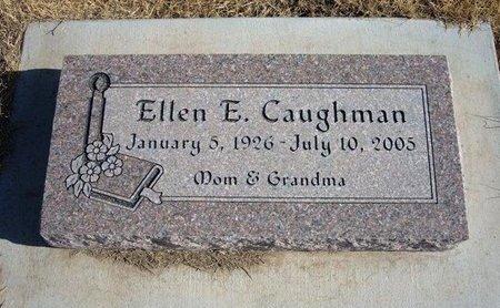 CAUGHMAN, ELLEN E - Baca County, Colorado | ELLEN E CAUGHMAN - Colorado Gravestone Photos