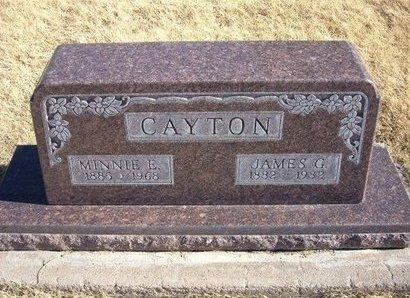 CAYTON, JAMES GARFIELD - Baca County, Colorado | JAMES GARFIELD CAYTON - Colorado Gravestone Photos