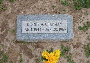 CHAPMAN, DENNIS W - Baca County, Colorado   DENNIS W CHAPMAN - Colorado Gravestone Photos