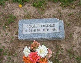 CHAPMAN, DONALD L - Baca County, Colorado   DONALD L CHAPMAN - Colorado Gravestone Photos