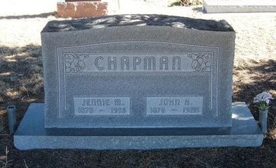 CHAPMAN, JOHN HARVEY - Baca County, Colorado | JOHN HARVEY CHAPMAN - Colorado Gravestone Photos