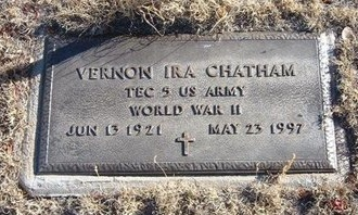 CHATHAM (VETERAN WWII), VERNON IRA - Baca County, Colorado | VERNON IRA CHATHAM (VETERAN WWII) - Colorado Gravestone Photos