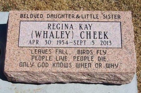 CHEEK, REGINA KAY - Baca County, Colorado | REGINA KAY CHEEK - Colorado Gravestone Photos