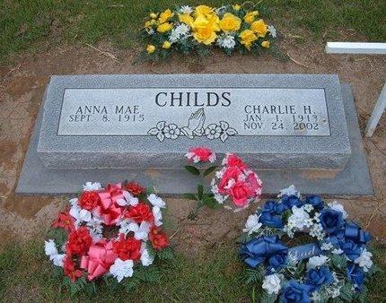 CHILDS, ANNA MAE - Baca County, Colorado | ANNA MAE CHILDS - Colorado Gravestone Photos