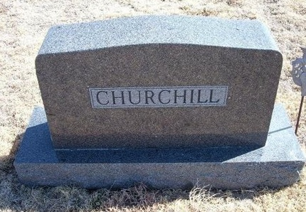 CHURCHILL FAMILY GRAVESTONE,  - Baca County, Colorado |  CHURCHILL FAMILY GRAVESTONE - Colorado Gravestone Photos