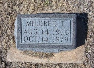 CHURCHILL, MILDRED T - Baca County, Colorado | MILDRED T CHURCHILL - Colorado Gravestone Photos